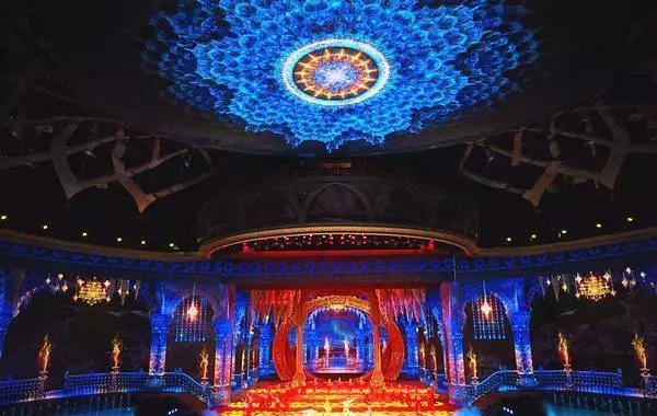 新疆大剧院实景演出,西安舞台舞美设计